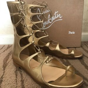 e41156c308e0 Christian Louboutin Shoes - Christian Louboutin Sparty Gladiator Sandals 😍😍💜
